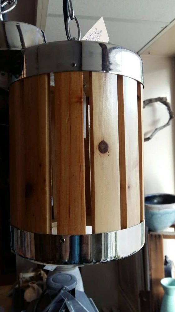 hanglamp houtchroom