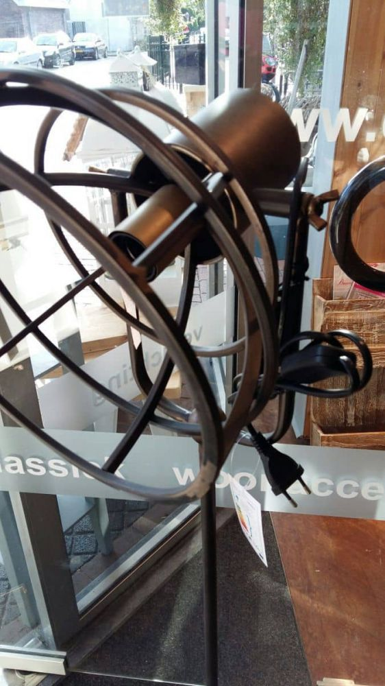 industrile vloerlamp 130 cm nieuw