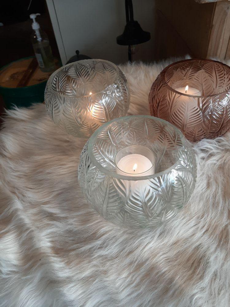 windlicht glas naturel sale